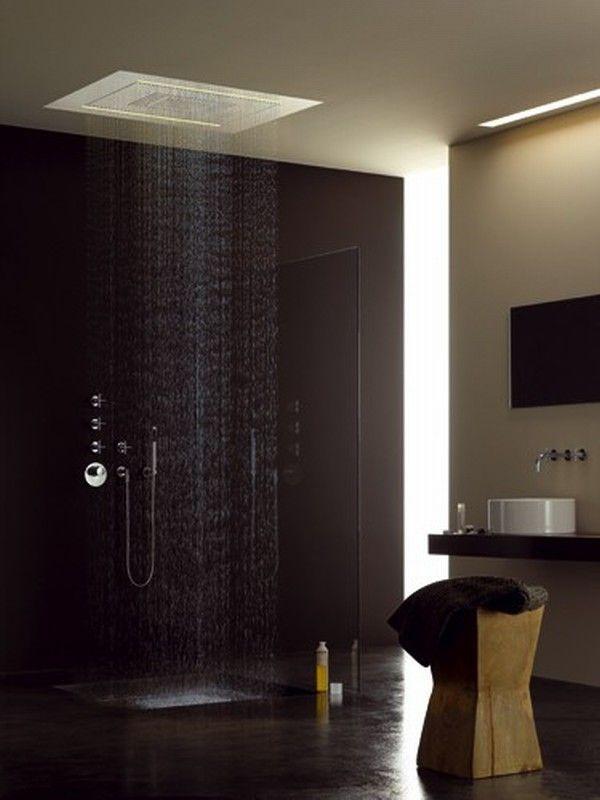 Charming 16 Photos Of The Creative Design Ideas For Rain Showers Bathrooms