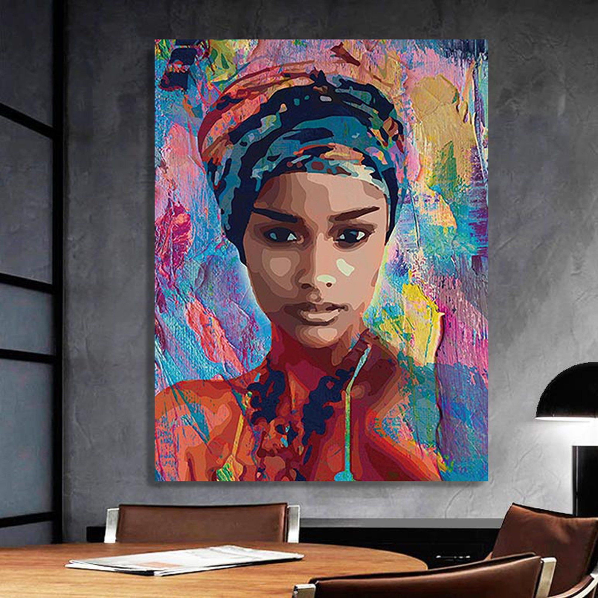 Africanamerican woman vector art 1 beauty woman african