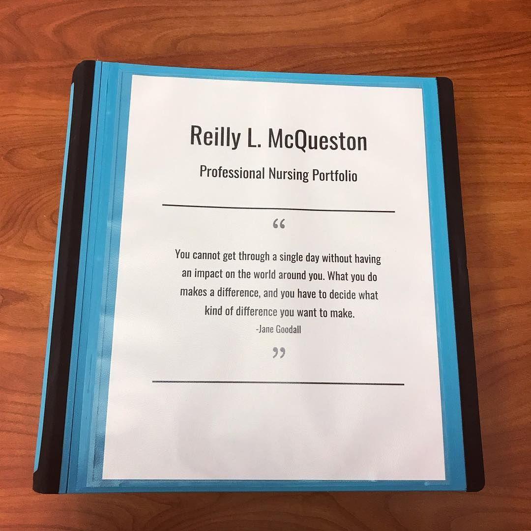 "reilly on instagram ""professional nursing portfolio‼️ aka cv for fresh graduate doc mechanical design engineer resume template free digital marketing templates"