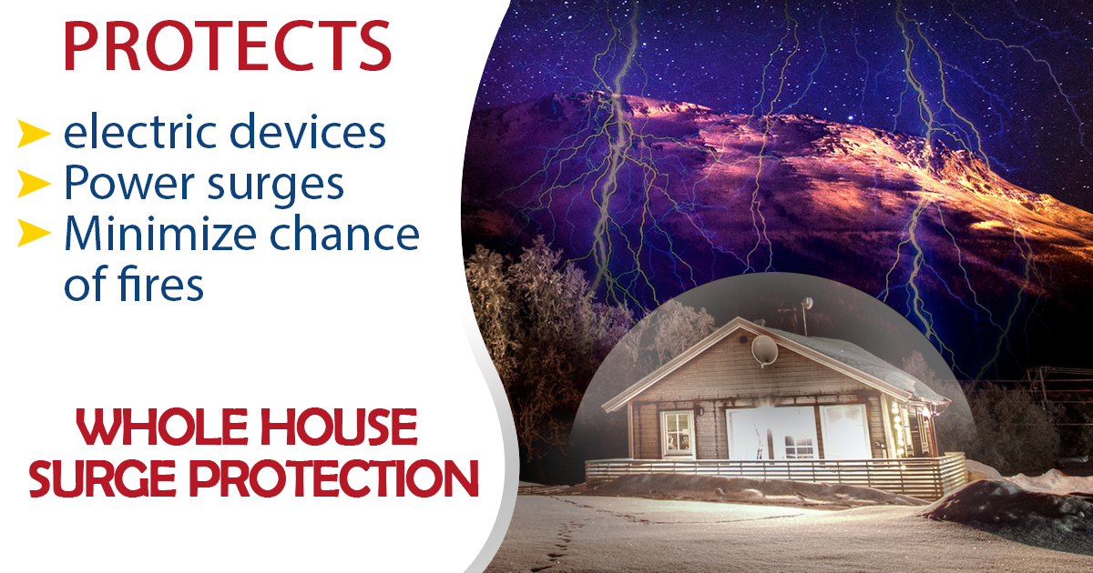 Stocking up on electronics this #cybermonday? Consider installing whole house surge #protection to protect your delicate #electronics and minimize the chances of a fire. You'll have the peace of mind knowing that even if you are out of town you'll be protected should your home experience a powerful surge.