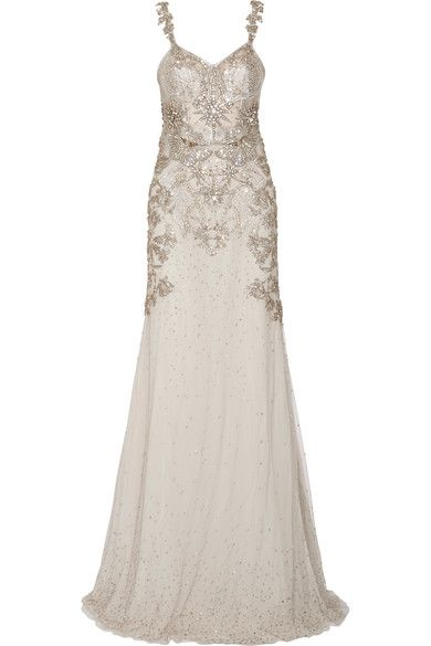 ALEXANDER MCQUEEN Embellished tulle gown €17,995