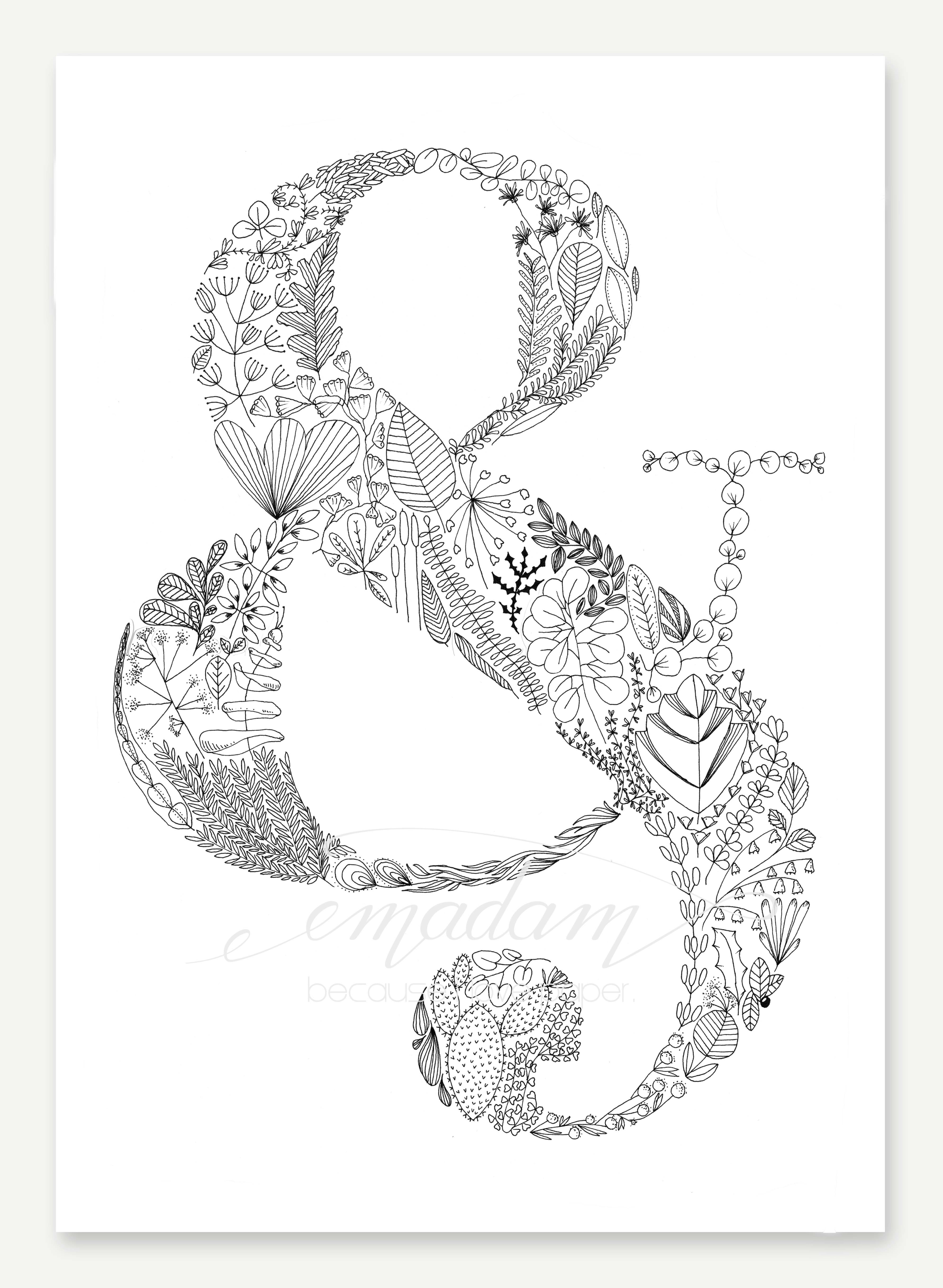 Ampersand Art Print Din A3 Aquarell Blatter Kunstdruck Und
