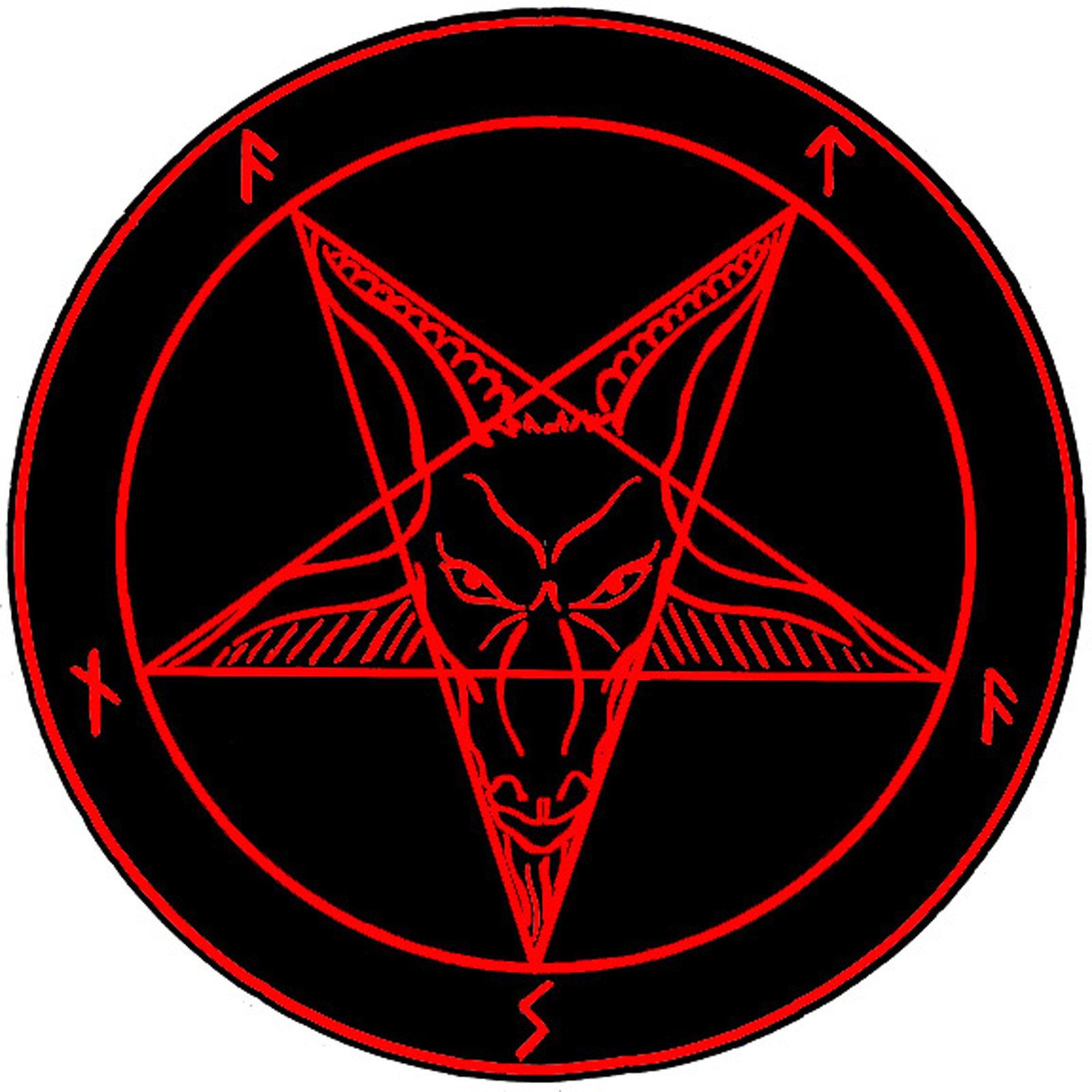 The Satanic Sigil (Picture Poster Devil