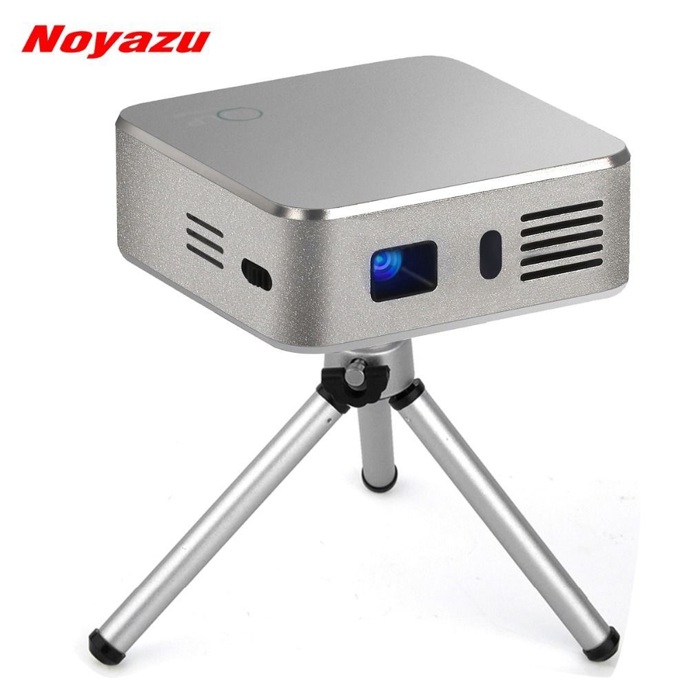 Noyazu Android 4 4 Dlp Pico Video Projector 4000 Mah 150 Inches Large Screen Bluetooth Wifi Home Theater Portable Pocket Beamer