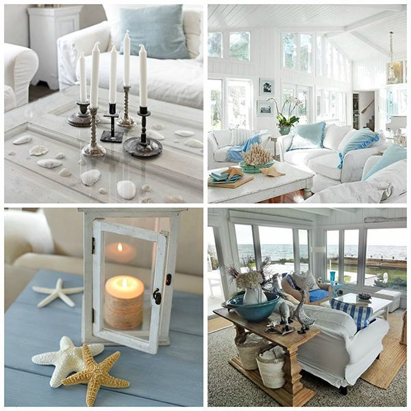 Creating A Rustic Living Room Decor: How To Create Beach Cottage Chic Decor
