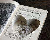 Carved book! So cute. Wonder if I can try to make this? :)