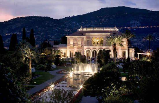 Villa and Jardins Ephrussi de Rothschild, Provence ...