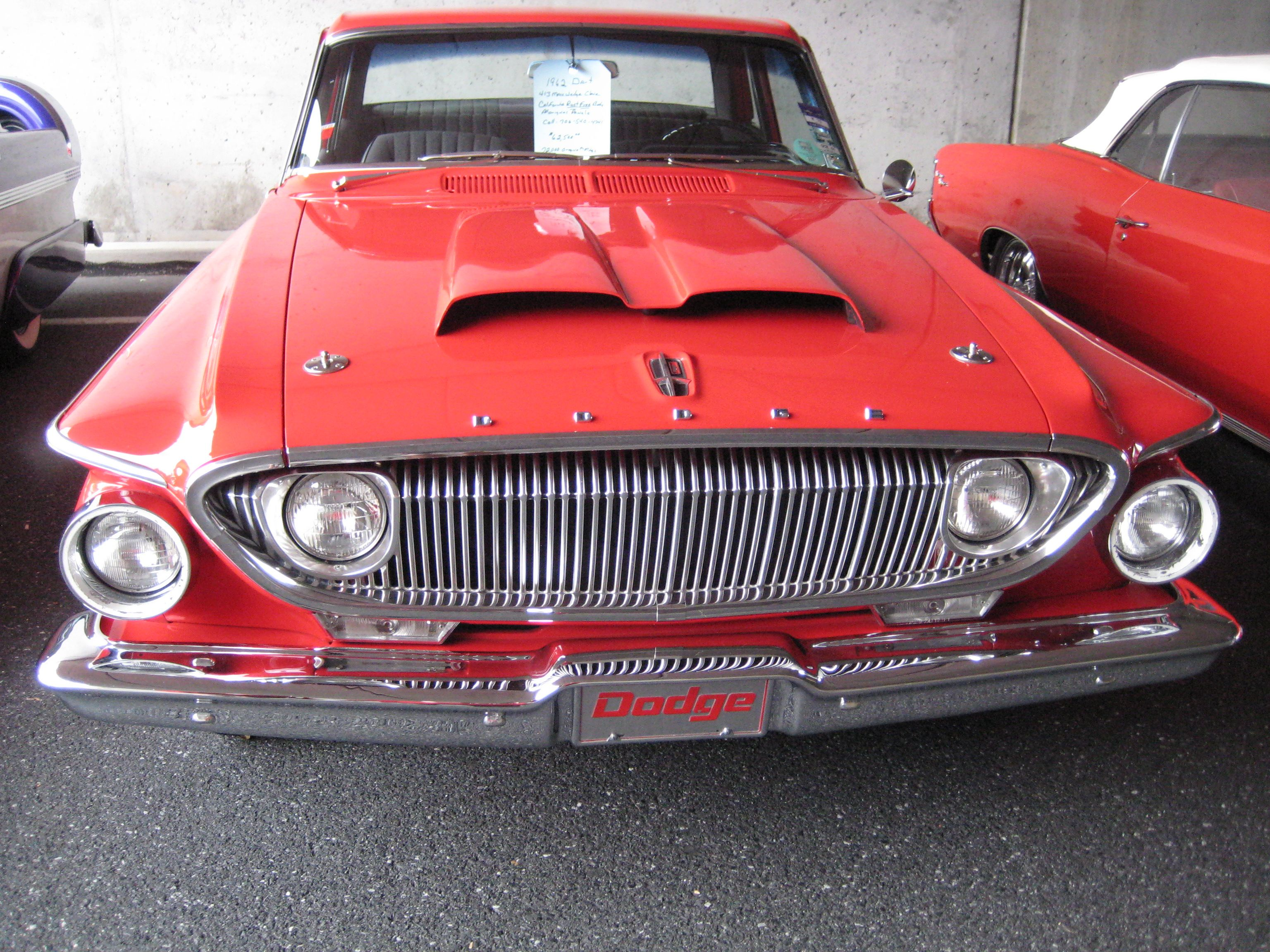 This Is The Infamous 413 From The Song Shut Down 1962 Dodge Dart 413 Dodge Models Dodge Sports Car Dodge Suv
