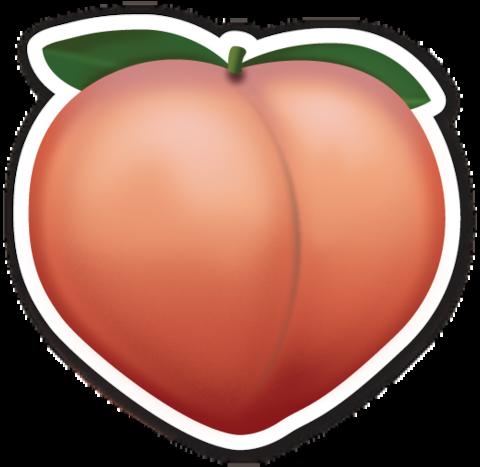 Pin By Gracie Woodland On Smileys Emoji Stickers Heart Emoji Stickers Peach Tumblr