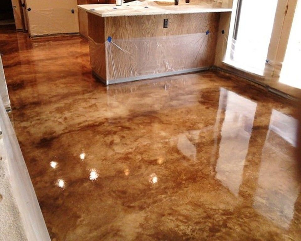 Concrete Stain Designs Photo Gallery Of The Floor Ideas