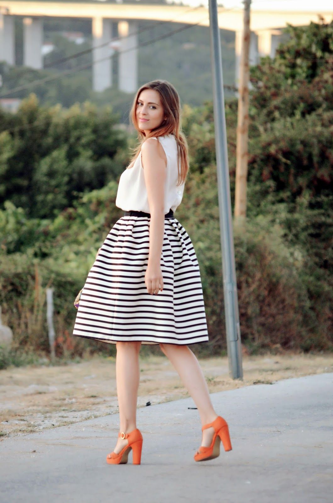 Le Trendy Charm: LESSONS IN STRIPES