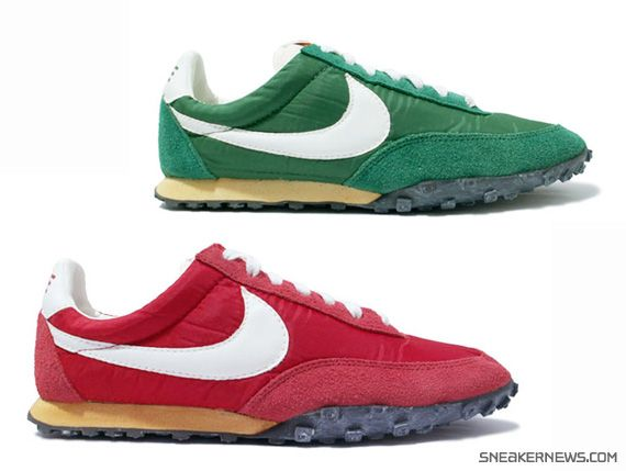 pretty nice 0df91 067c6 Nike Waffle Racer Vintage Red + Green