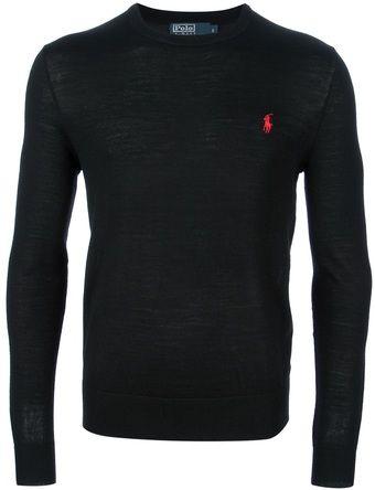 dcbf186cc14 Ralph Lauren Long Sleeve Sweater - Lyst