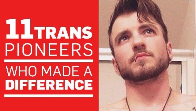 Las personas trans están dando la vuelta al mundo luchando en pro de la igualdad. Vimos nacer a Caitlyn Jenner, una historia que sin duda nos dejo con la boca abierta y estamos por encontrarnos a nosotros mismos ante 11 personas trans que han desafiado las probabilidades y hecho una diferencia en sus 20 años.