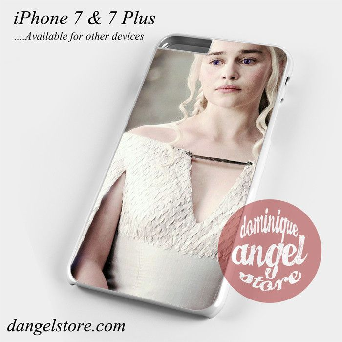 Game Of Thrones Targeryn Mother Of Dragon 2 Phone Case for iPhone 7 and iPhone 7 Plus