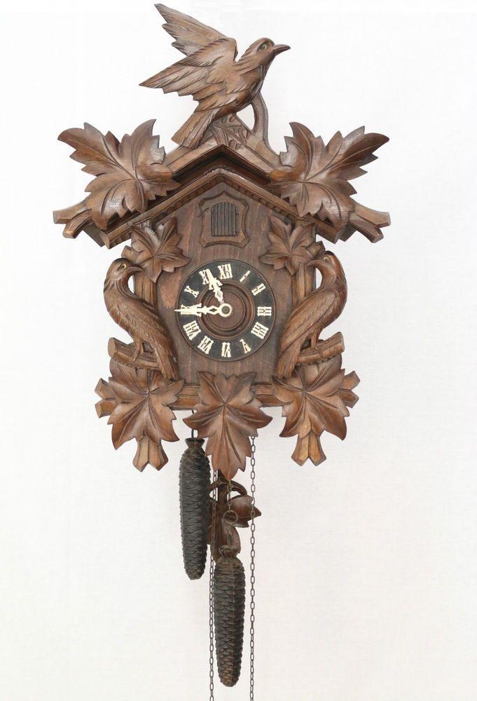 Vintage Black Forest Cuckoo Clock Pre World War 2 G G Berger Germany Cuckoo Clock Clock Cuckoo