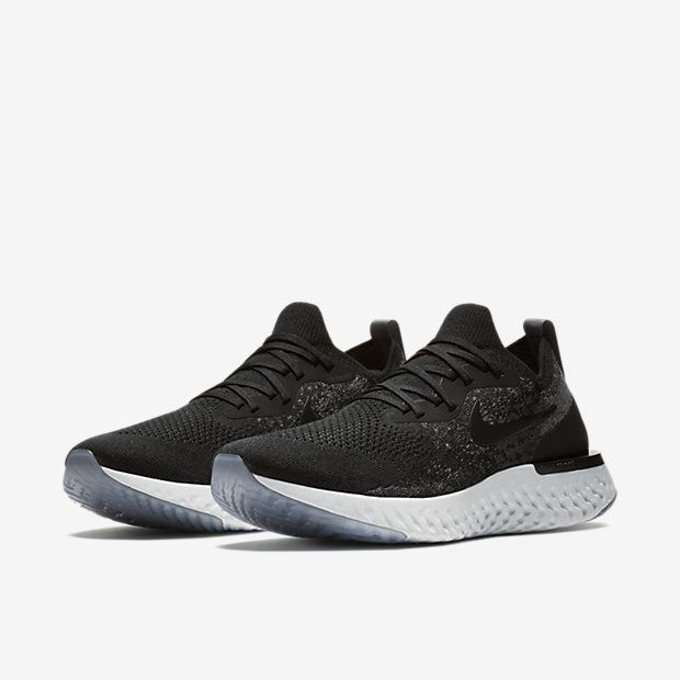 Nike Epic React Flyknit Black/Grey