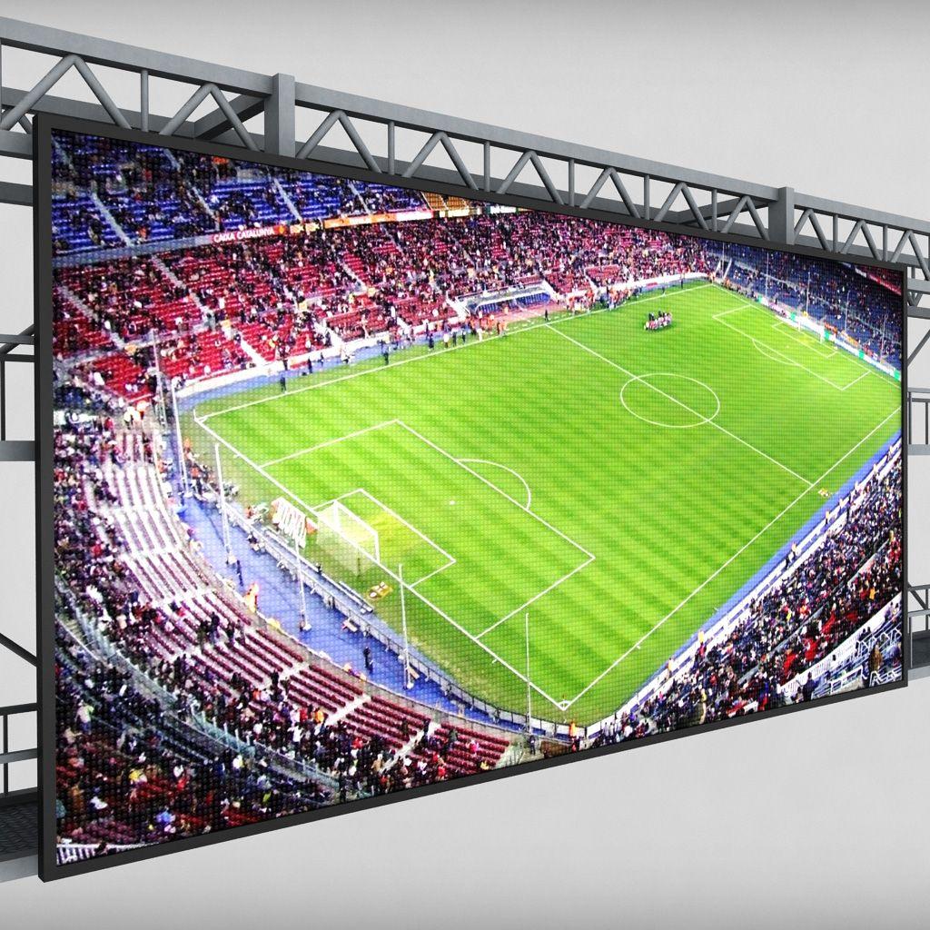 Scoreboard Stadium Tv Led Screen Stadium Tv Stadium Scoreboard