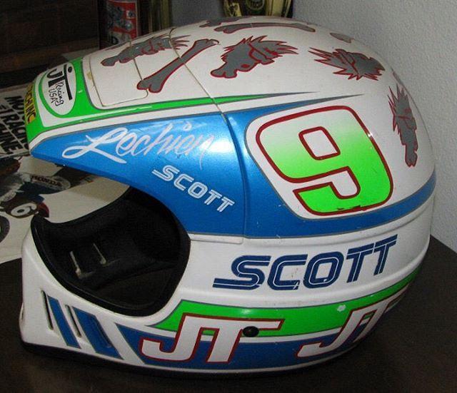 Jtracingvintage Thedogger4 Ronlechien Maximausa Jtracingus Als2 Lechien Original Helmet From 87 Helmet Vintage Helmet Vintage Motocross