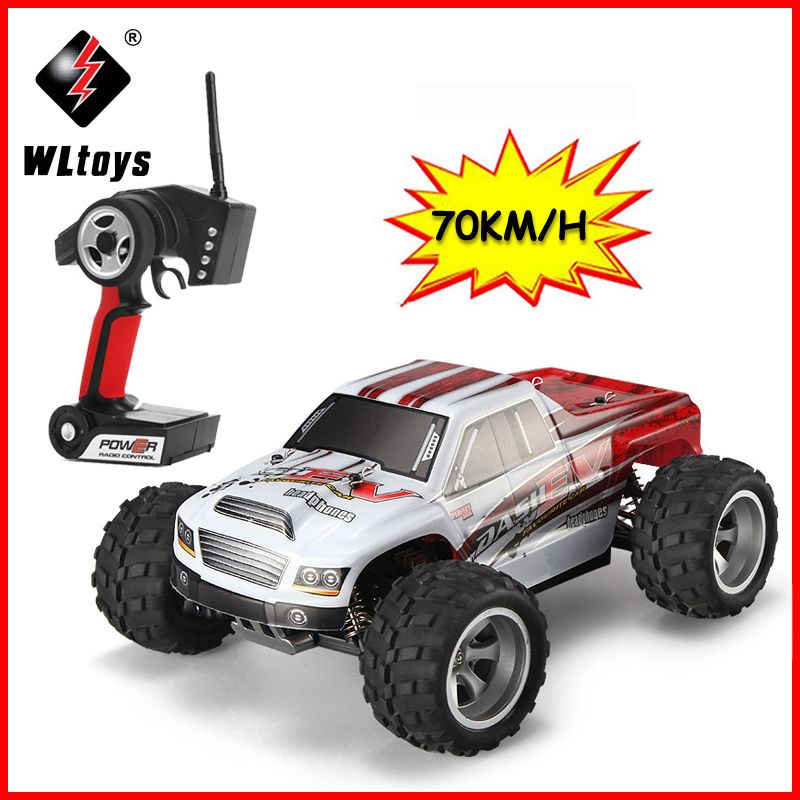 WLtoys A979-B 2.4GHz 1//18 Scale 4WD RC Car 70KM//h Electric RTR Off-road Truck C