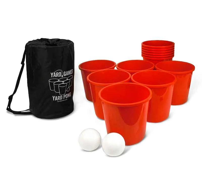 Giant Yard Pong Giant Beer Pong Yard Games Outdoor Games Adults