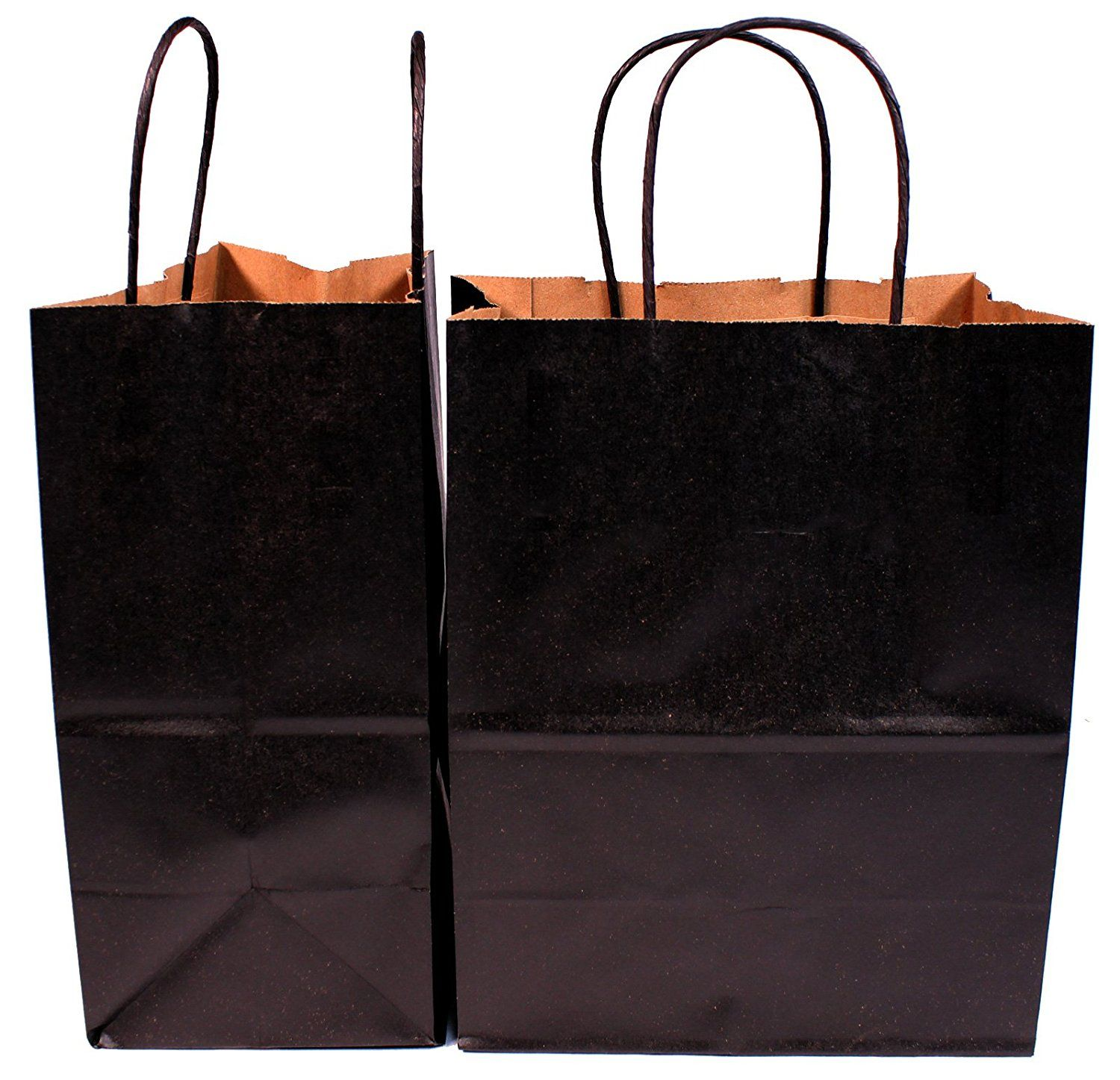 Creative Hobbies Medium Size Eco Kraft Paper Gift Handle Bags 8 X 4 5 X 10 5 Inch 100 Recycled Paper Black P Paper Gifts Creative Hobbies Recycled Paper