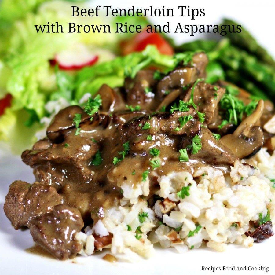 Beef Tenderloin Tips | Recipe | Beef tenderloin, Food and ...