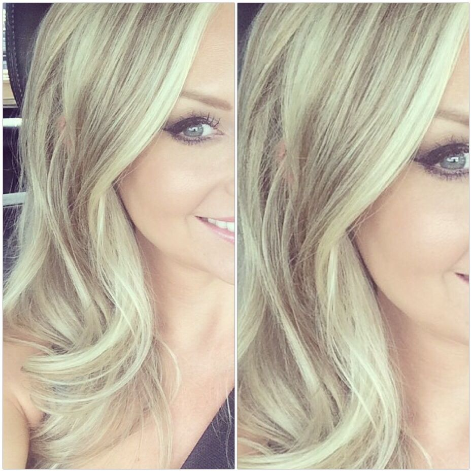 Blonde ombre natural blonde color correction balayage ash blonde natural lowlight with platinum highlights maintained with purple shampoo pmusecretfo Choice Image