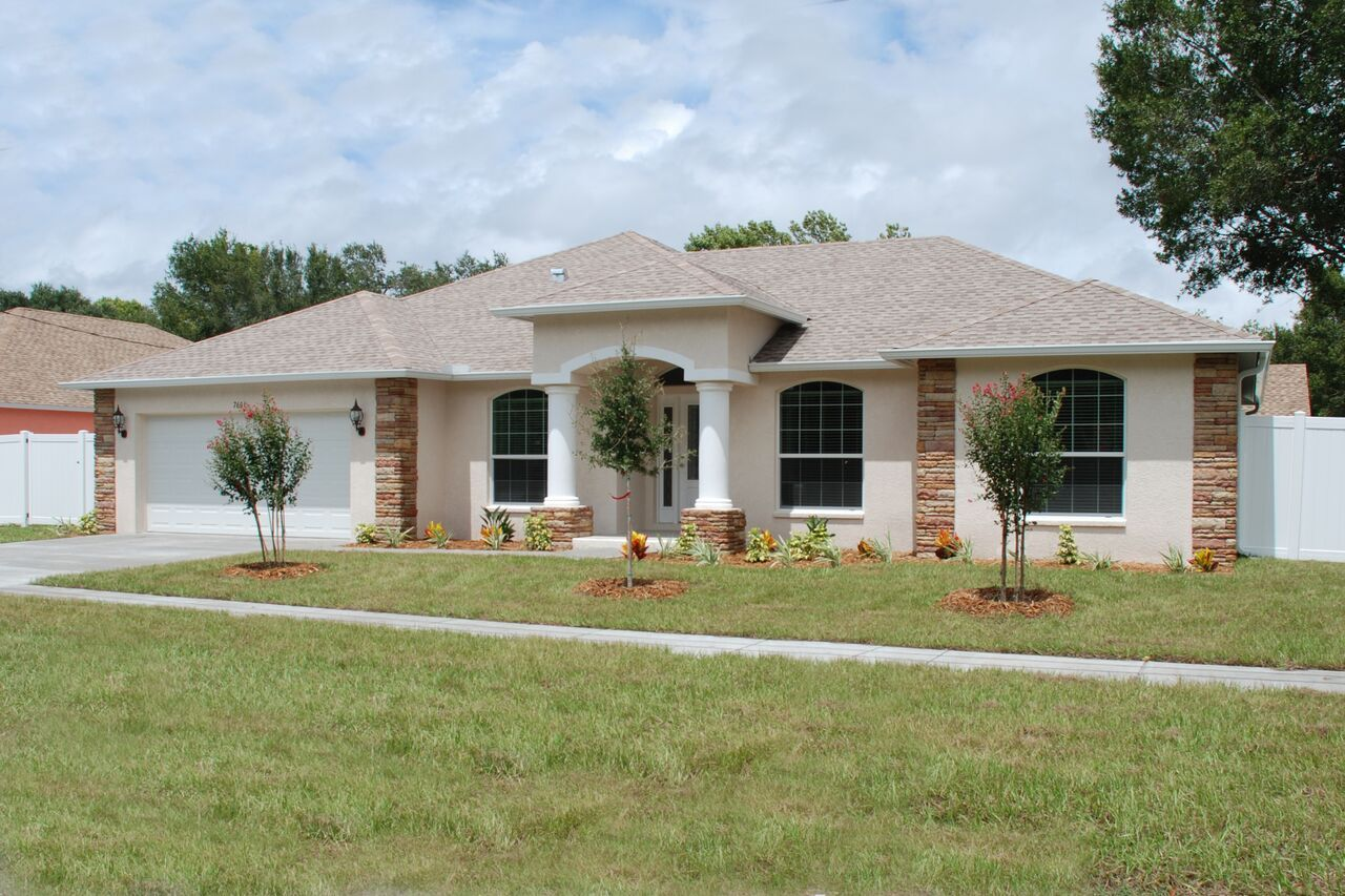 Photo Gallery New Homes Tierra Verde House Exterior