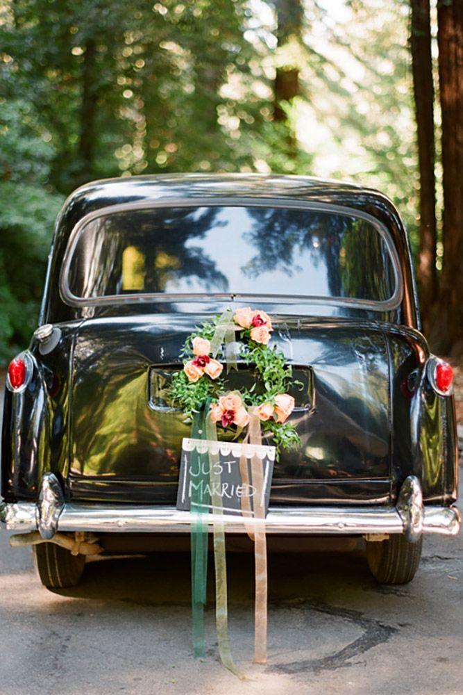 30 Gorgeous Wedding Car Decoration Ideas
