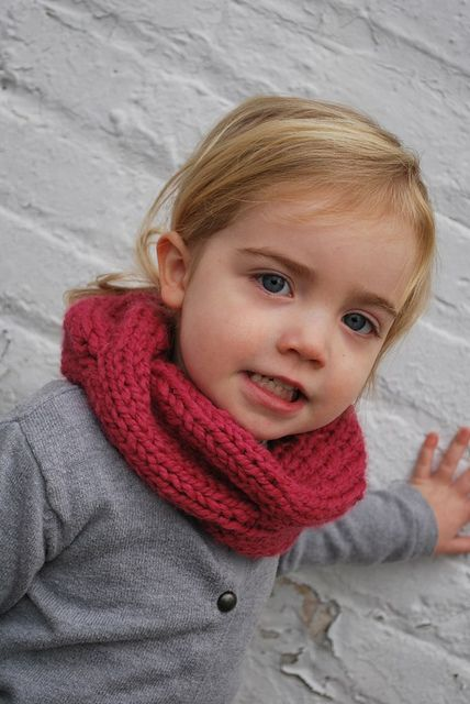 Ravelry Childrens Quick Knitted Cabled Cowl Pattern By A Crafty