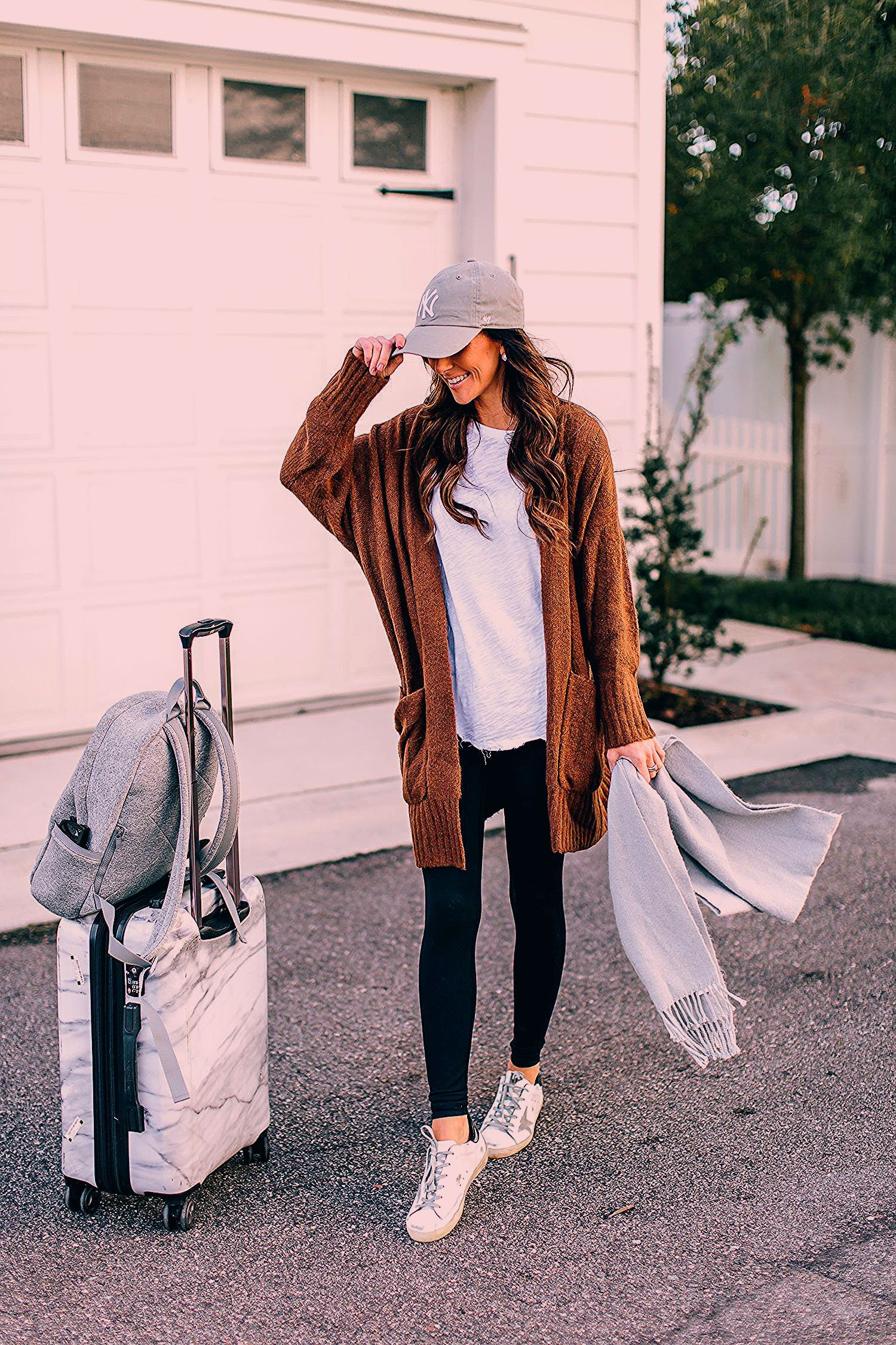 Photo of My Go-To Travel Day Outfit Essentials   Alyson Haley