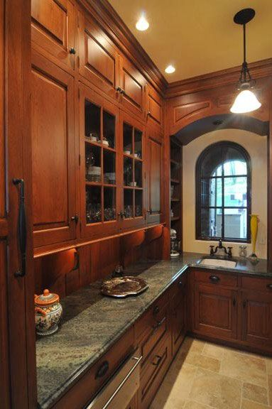 Tedd Wood Fine Custom Kitchen Cabinetry | Old World Kitchen and Bath ...