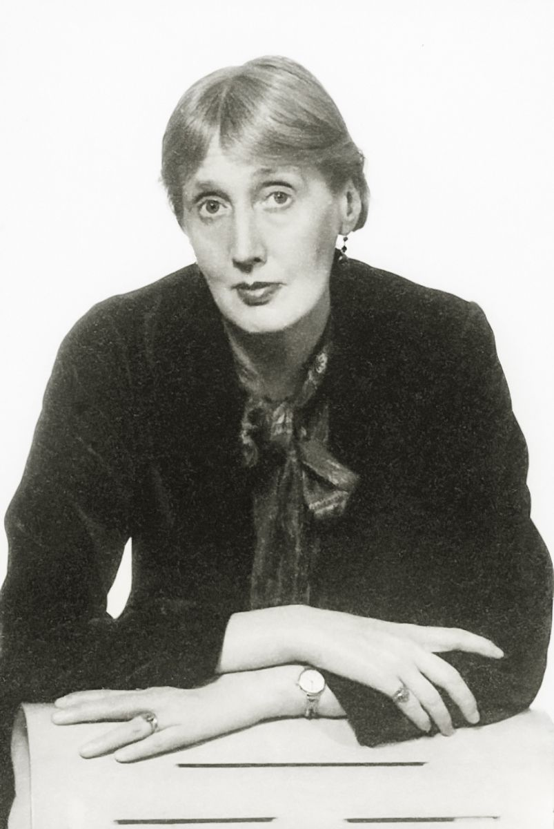 Virginia Woolf Portrait By Man Ray Possibly 1935