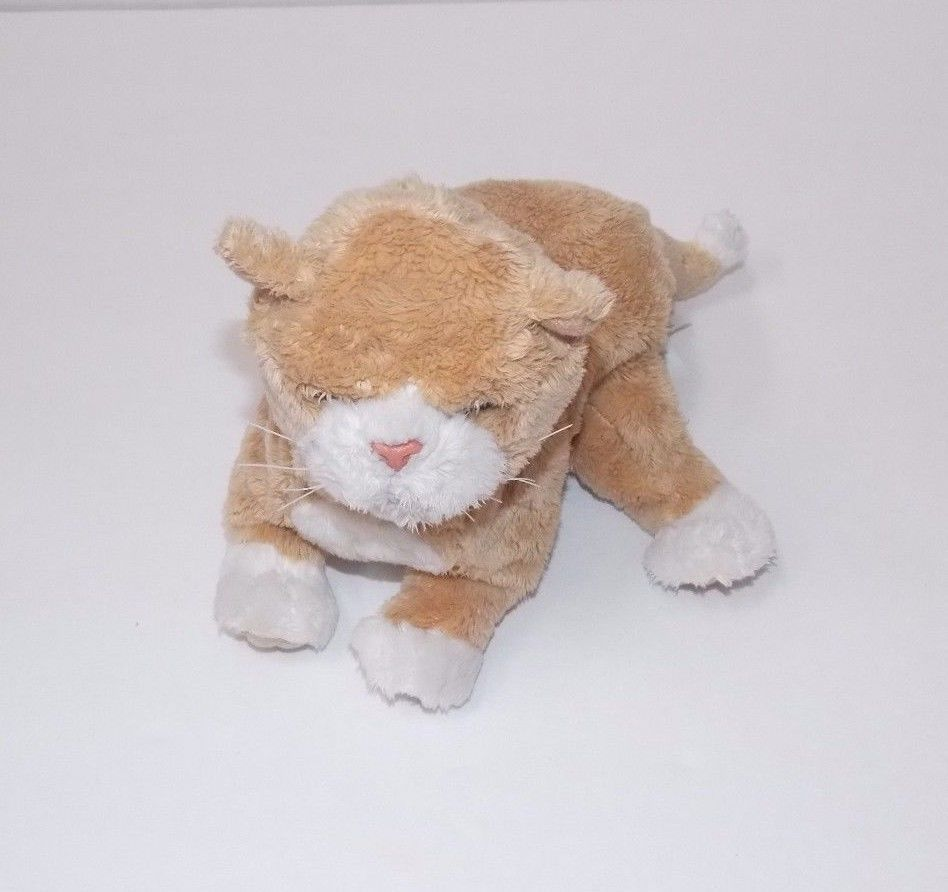 Furreal Friends Newborn Kitty Tan White Interactive Plush Fur Real Friends Newborn Kittens Kitten