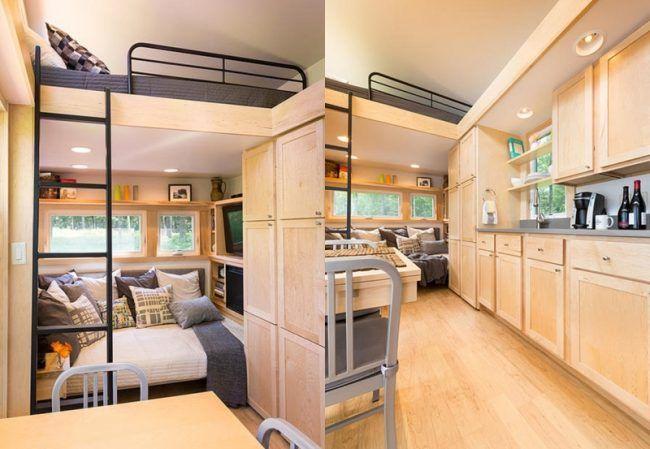 energieeffizientes mobilheim einrichtung kueche couch. Black Bedroom Furniture Sets. Home Design Ideas