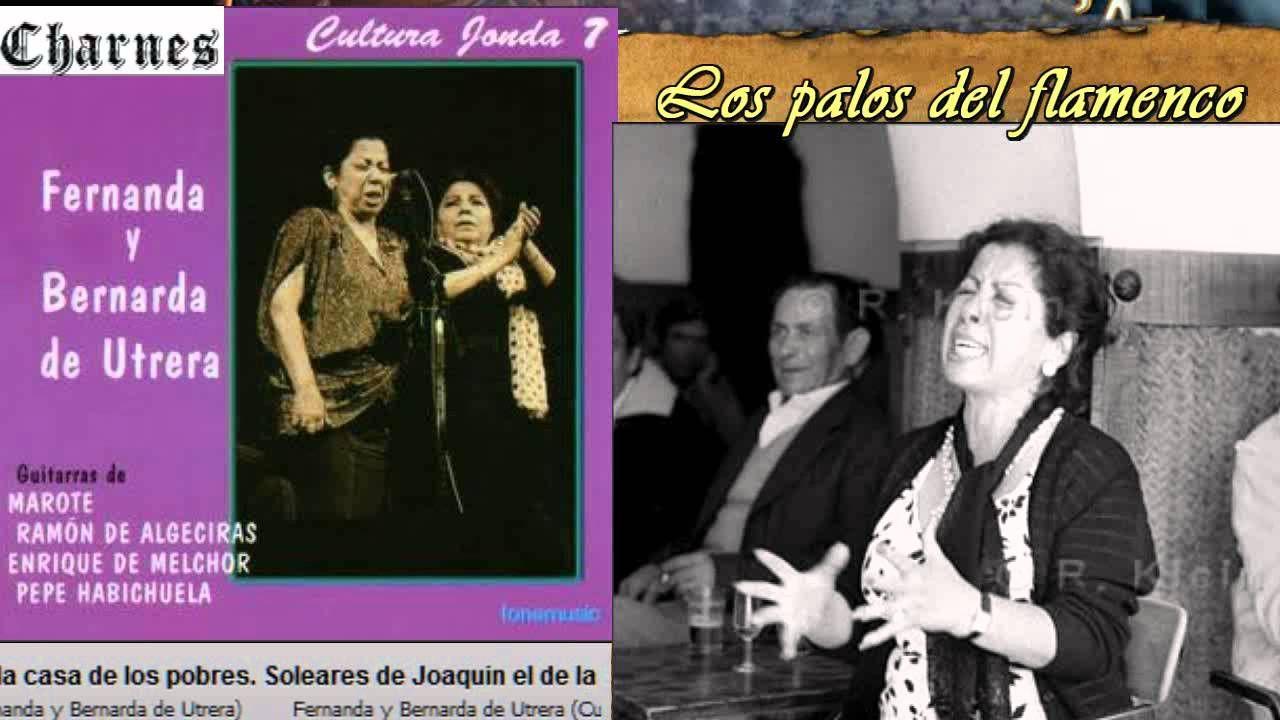 Soleares Fernanda Y Bernarda De Utrera Soleado Quiero Tenerte