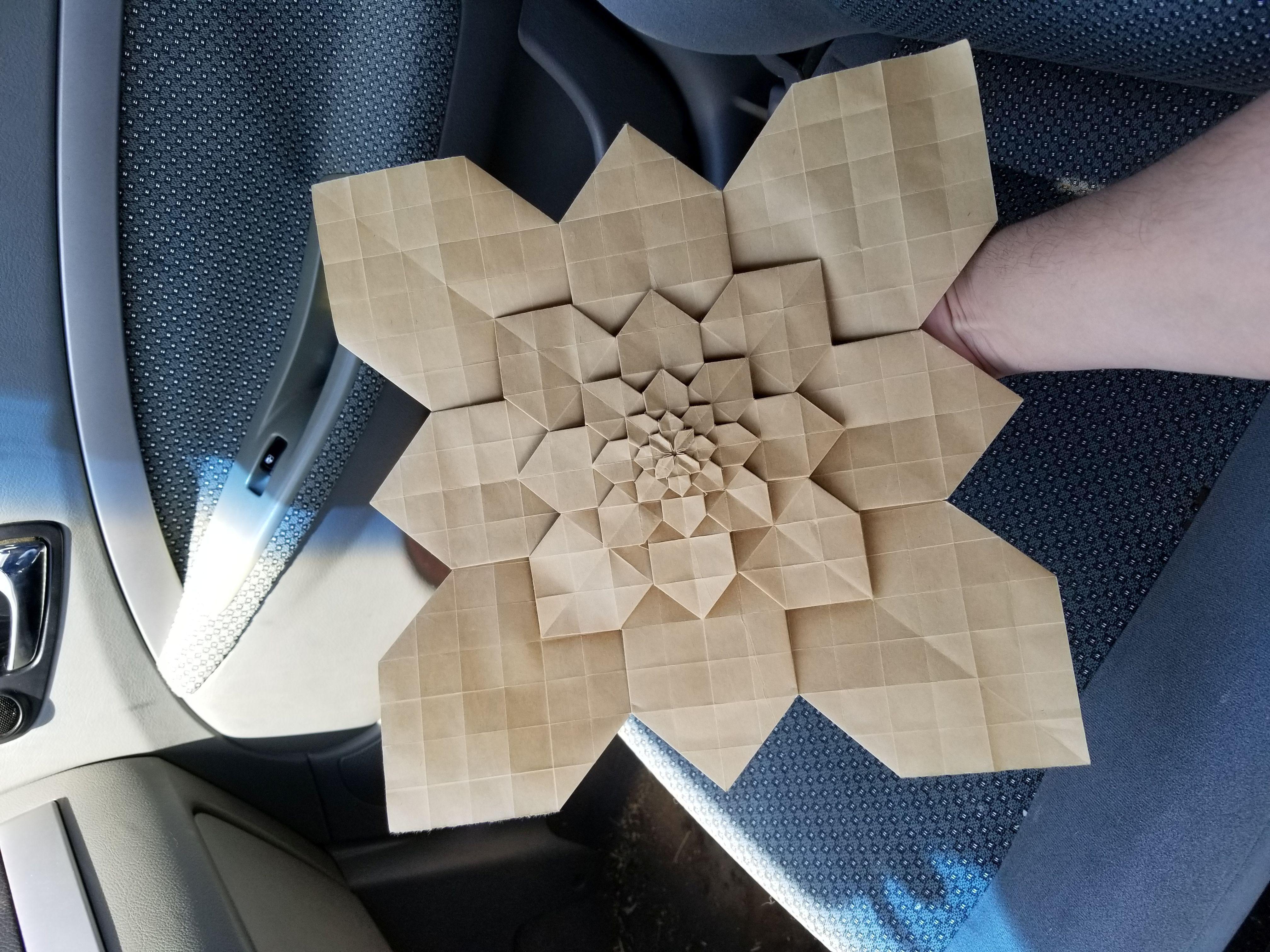 Origami Hydrangea Paper 1Ft X 1Ft ( 305Cm X 305Cm)