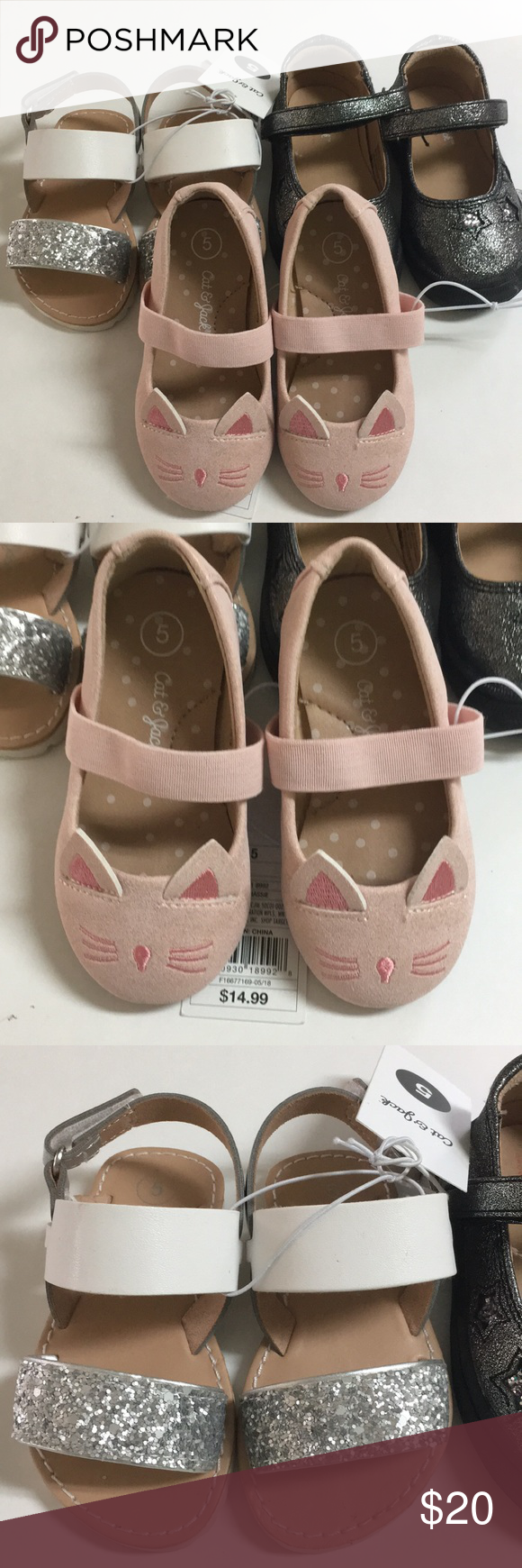 Toddler girls Shoes Brand new cat