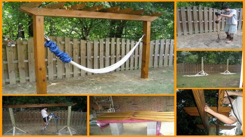 15 diy hammock stand to build this summer 15 diy hammock stand to build this summer   hammock stand      rh   pinterest