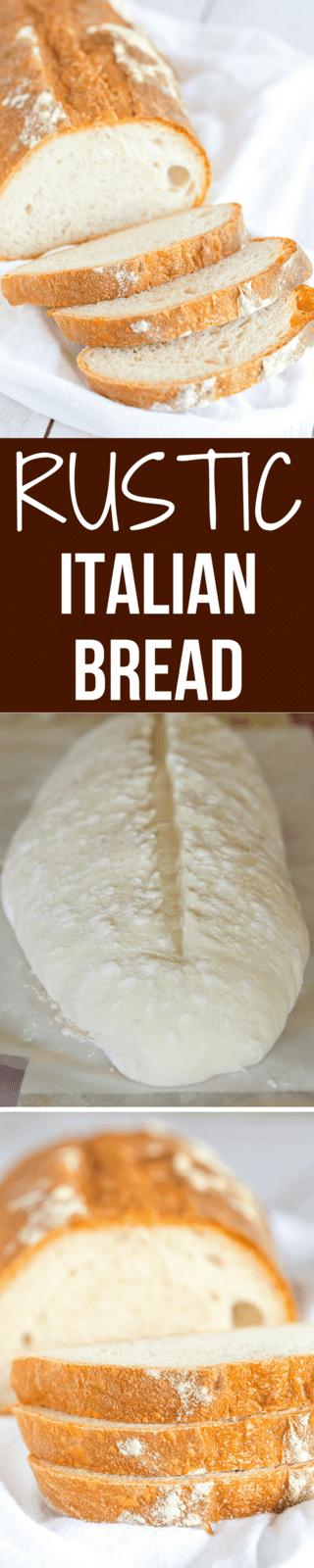 Rustic Italian Bread | Recipe | Rustic italian bread ...