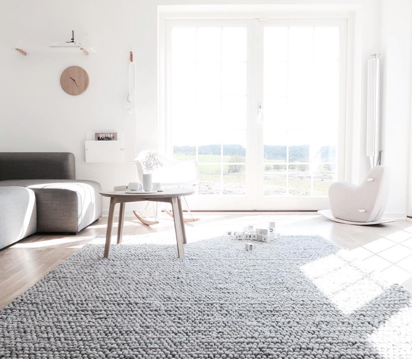 Total White BeoLab 18 In This Nordic Interior Shared By Lillely On Instagram