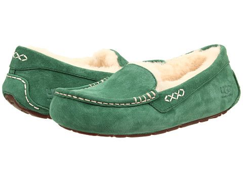 9a84d8dc6f5d UGG Ansley Moccasin - Zappos.com Free Shipping BOTH Ways - Pine Green