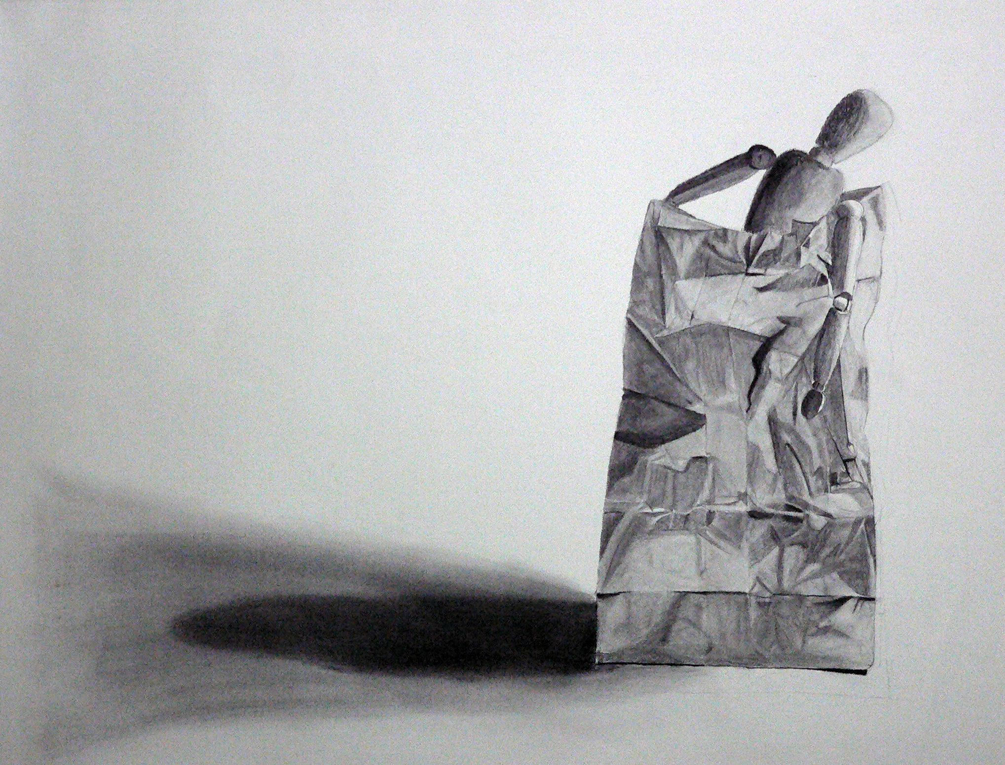 Paper bag sketch - Paper