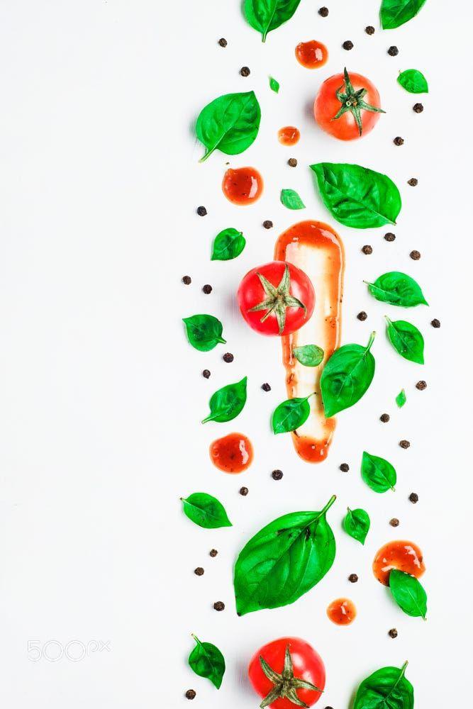 Tomato sauce pattern by Dina (Food Photography) on 500px ...