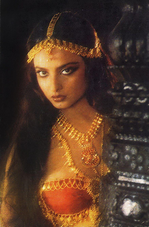 Retro Bollywood Vintage Bollywood Indian Aesthetic Rekha Actress