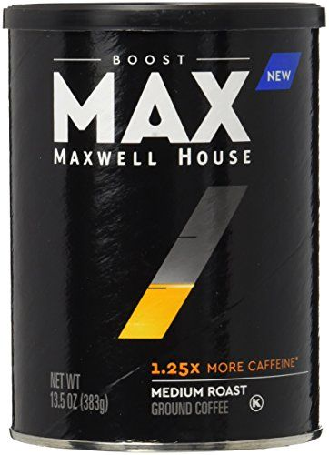 Max By Maxwell House Boost Roast And Ground Coffee 125x