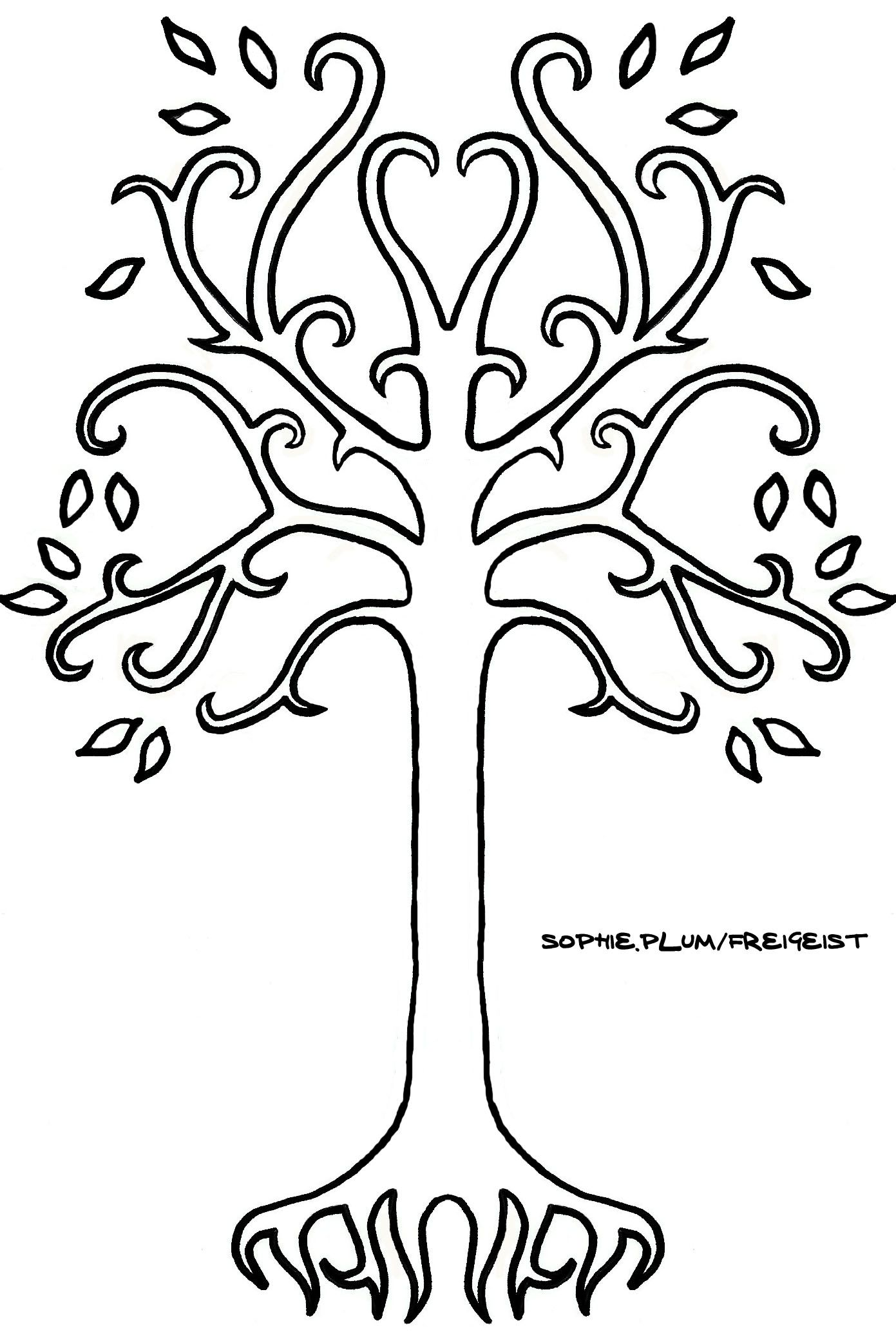 The Lord Of The Rings Gondor Pin//Brooch Black and White Tree of Gondor Cosplay.