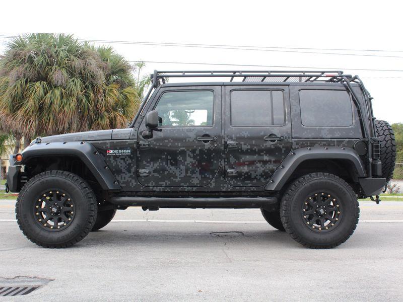 Gobi Usa Stealth Roof Rack System For 07 Up Jeep Wrangler Jk 4
