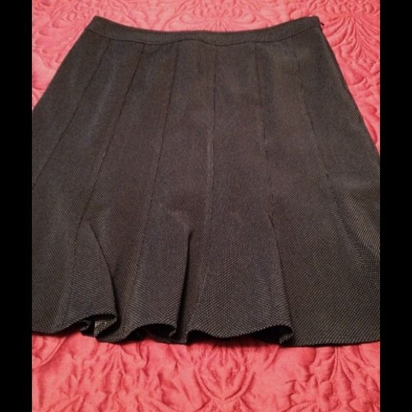 """Spotted while shopping on Poshmark: """"REDUCED!Great Skirt office/party!Charcoal grey 23""""""""! #poshmark #fashion #shopping #style #Anne Klein #Dresses & Skirts"""
